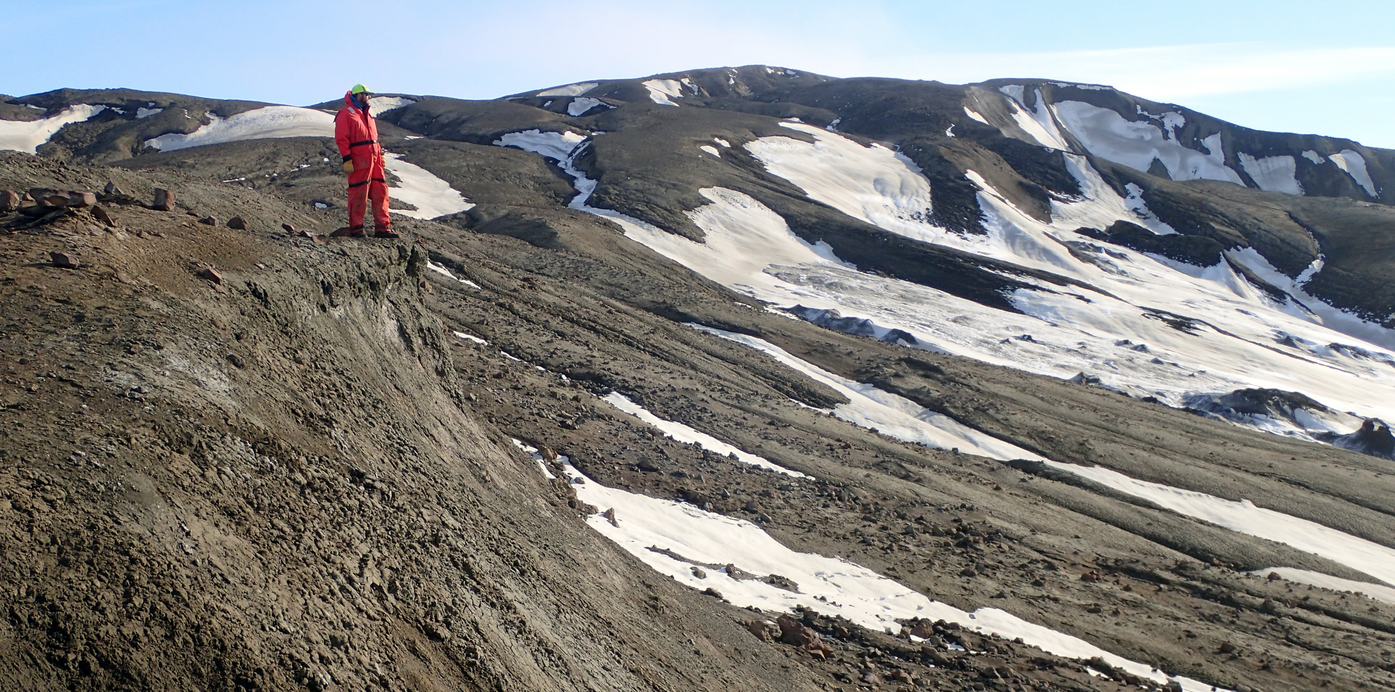 K-Pg Boundary on Seymour Island Antarctica (Tom Tobin)